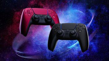 PS5 : Sony dévoile des manettes DualSense en rouge et noir