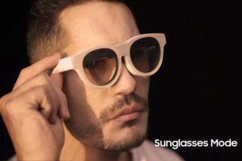 AR Glasses : un leak dévoile les lunettes AR imaginées par Samsung