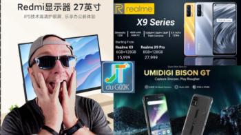 JTDUGEEK: Realme X9 Pro, Umidigi Bison GT, Ulefone Note 11P, Fiido L3, film et serie du week-end