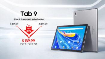 Blackview Tab 9, une tablette économique avec jusqu'à 30% de réduction pour les réservations anticipées.