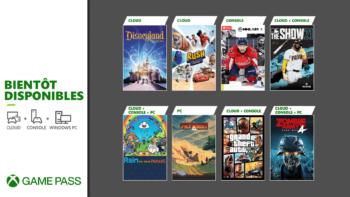 Xbox Game Pass : les nouveaux jeux d'avril 2021 (GTA V, Outriders…)