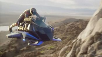 Speeder : la première «moto volante» peut déjà être précommandée (attention le prix !)