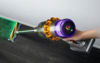Le nouvel aspirateur Dyson V15 est doté d'un système laser et d'un compteur de particules