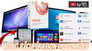 4DDiG , un logiciel de Récupération de Données Mac & Windows simple et pro qui peut sauver ta journée