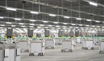 Collision et embrasement de robots chez la plus grosse épicerie en ligne britannique