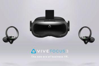 Vive Focus 3 : HTC dévoile un casque VR autonome ultra puissant… pour les professionnels (5K, FoV 120°, XR2, etc.)