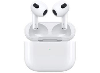 Apple annonce les AirPods 3 : 6 heures d'autonomie, égalisation adaptative et son amélioré