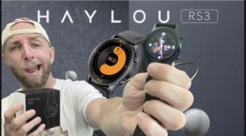 Test Haylou RS3 LS04 Youpin, une montre connectée AMOLED et Alu avec GPS, BPM,SPO2 et étanche 5atm