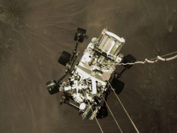 Perseverance : la NASA publie plusieurs vidéos de l'arrivée sur Mars