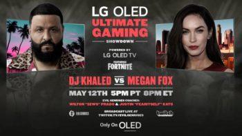 [Jeux Vidéo] Fortnite : DJ Khaled et Megan Fox vont s'affronter