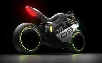 Segway dévoile l'Apex H2, une moto futuriste équipée d'une pile à combustible
