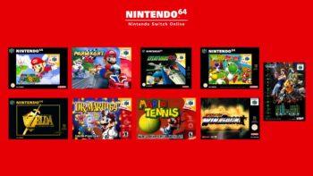 Switch : les jeux Nintendo 64 et Mega Drive arrivent, mais ce sera payant
