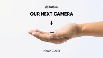 La prochaine action-cam d'Insta360 a l'air vraiment minuscule