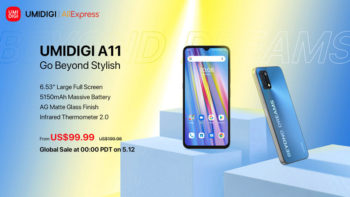 UMIDIGI A11 est lancé dans le monde entier avec un plein écran de 6,53 pouces, une batterie de 5150 mAh et un design à bords plats, à partir de 99,99 $