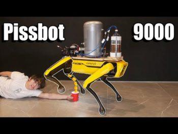 Evolution 2.0 : désormais le robot Spot «pisse» littéralement … de la bière !