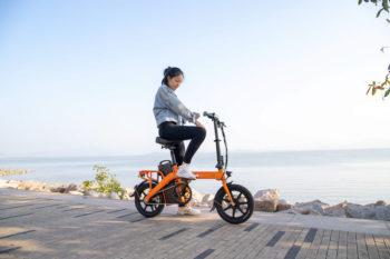 Vélo électrique pliable Fiido L3 avec une autonomie allant jusqu'à 250 km