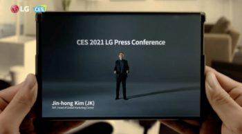 LG arrêterait la production de son smartphone enroulable
