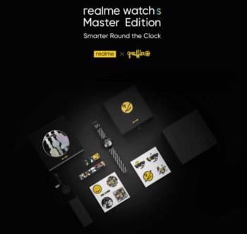 Realme Watch S Master Edition du partenariat avec Grafflex sera mis en vente le 8 mai
