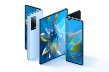Huawei officialise le Mate X2 : changement de design, mais des specs toujours au top (Kirin 9000, 90Hz, bloc photo 3 capteurs)