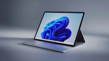 Surface Laptop Studio, le nouveau PC portable de Microsoft