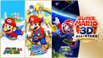 Super Mario 3D All-Stars sur Switch sera retiré de la vente à la fin mars