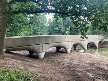 Le plus long pont imprimé en 3D se trouve désormais aux Pays-Bas
