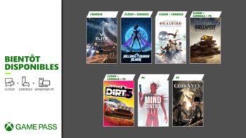 Xbox Game Pass : les nouveaux jeux de fin février 2021