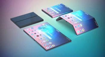 Samsung plancherait sur une tablette pliable en trois pour 2022