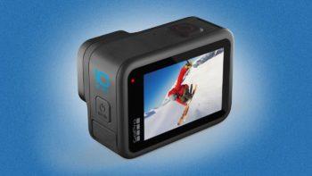 GoPro Hero 10 Black : l'action cam un cran plus loin (video 5,3 K à 60 fps, puce GP2, etc.)